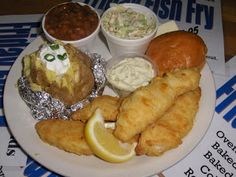 Wisconsin's Famous Friday Fish Fry.  If you do not live here, it is worth a trip to have a good, really good, Fish Fry.