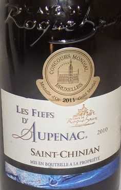 HIPPOVINO: Les vins de Saint-Chinian, de bons rouges du Languedoc - vin rouge - Cave de Roquebrun Les Fiefs d'Aupenac - Languedoc - AOC Saint-Chinian - Code SAQ 10559166