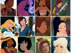 Which Non-Disney Girl Are You?