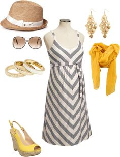 Maternity Style { Spring/Summer } sundress with a scarf