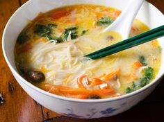 Aromatic Coconut and Chicken Soup Recipe