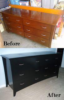 The Sugar Bee Bungalow: {Bungalow Bee} DIY: Refinishing Furniture