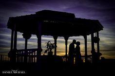 Cincinnati Photography, Cincinnati Photographers-Daniel Michael #lakelyndsay #gazebo #wedding #couple