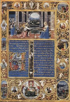 Gherardo Di Giovanni (attivo nella seconda metà del XV sec.a Firenze) - Messale - Firenze - Museo Nazionale del Bargello