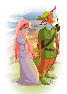 Robin & Maid Marian.  I love this movie.  Maid Marian is my favorite Non-princess.