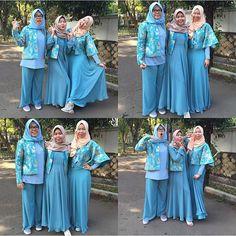 3 girls with different characters. You can see they wear @airaweddinghijab same with their characters. So cute.  @nisamulya @zatamulya @tikamulya  #Airaweddinghijab