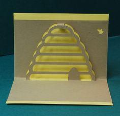 Mujeres jóvenes Sud Mini tarjetas pop-up por PeadenScottDesigns
