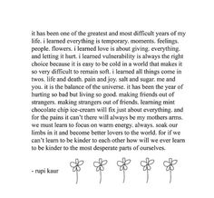 Honestly couldn't have said a word better myself #rupikaur #newyear #positivevibes #outwiththeold