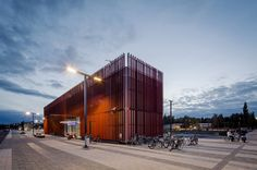 Striking #Transport entry by PES Architects Ltd & B&M Architects Ltd.  ©Kari Palsila