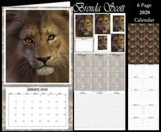 - 2020 Mini Calendar You get 6 pages Page 1 - Topper with pyramage Page 2 - Matching note paper to put inside Page 3 - P. 2019 Calendar, Calendar Design, Note Paper, Cute Bunny, Paper Background, Craft Fairs, Christmas Time, Card Making