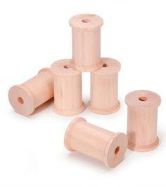 Darice® Big Value! 1-1/2''x2-1/8'' Wood Spools
