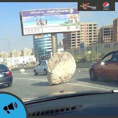 @bey2ollak today issued a warning from that boulder on the road. Any idea how many accidents happened today? . . #travel #travelgram #travelingram #travels #instatravel #traveling #christmas #travelling #travelphotography #photooftheday #trip #vacation #traveler #instatraveling #instagood #wanderlust #tourist #tourism #mytravelgram #love #igtravel #holiday #fun #visiting #traveller #photography #instago #nature #travelblogger #instapassport
