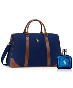 db84dc944e Ralph Lauren Polo Blue Duffel Pack 2-Pc. Gift Set Beauty - Shop All Brands  - Macy s