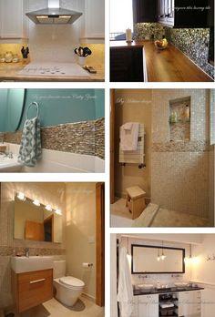 shell tiles, kitchen backslash tiles, mother of pearl tiles, bath wall tiles, shell mosaics from FIFYH.com