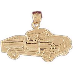 14K GOLD CHARM - CAR #4351