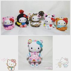 PDF Pattern Amigurumi Hello Kitty in Ox Costume / by ...