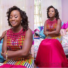 Latest Edition Of Ankara & Kente Styles: Hot, Slinky, Sassy & Stunning - Wedding Digest Naija African Print Dresses, African Fashion Dresses, African Dress, African Prints, Nigerian Fashion, Ghanaian Fashion, African Outfits, African Clothes, African Inspired Fashion