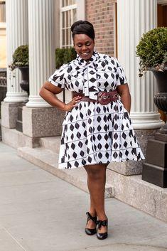 CeCe Olisa Wendy Williams Plus Size African Dress