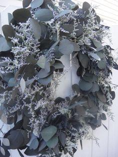 Eucalyptus Wreath   Seeded Eucalyptus   Dollar by donnahubbard, $85.00
