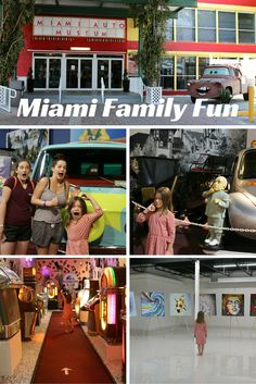Family Activities in Miami- The Miami Auto Museum at The Dezer Collection!