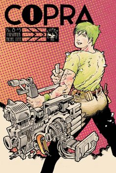 COPRA #8 : on paper, this course of action makes perfect sense.  Preview: http://michelfiffe.com/?page_id=4367
