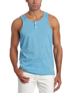 Save $14.00 on Company 81 Men`s Stripe Tank; only $12.00 + Free Shipping