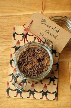 Melange chocolat chaud cadeaux gourmands bocal
