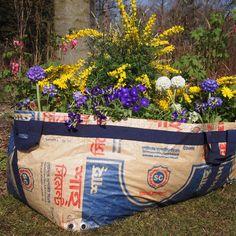 plantbag made of recycled cement sacks | big