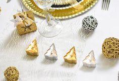 """Tischkerzen """"Tannenbäume"""" 4er Pack #wichtelgeschenk #weihnachtsfeier #weihnachtsdeko #mitbringsel"""