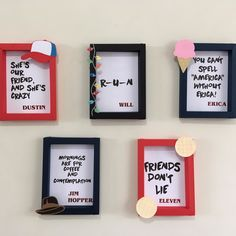 11th Birthday, Birthday Parties, Stranger Things Halloween, Butterfly Wall Decor, Stranger Things Aesthetic, Cute Room Decor, Stranger Things Netflix, Birthdays, Frame