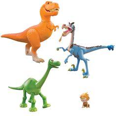 Disney The Good Dinosaur Ramsey vs The Rustler Exclusive Action Figure 4-Pack. The Good Dinosaur 4 Pack.