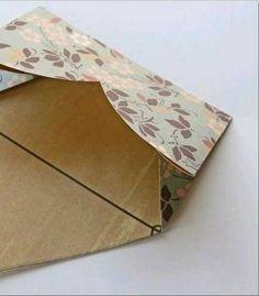 Kartondan Kalp Şeklinde Zarf Yapımı - http://m-visible.com/kartondan-kalp-seklinde-zarf-yapimi.html
