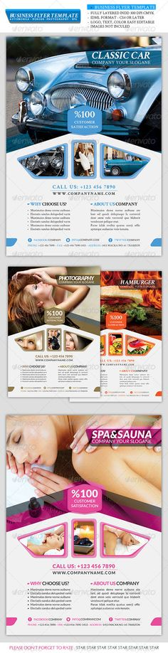 Business Flyer Template Vol 2                                                                                                                                                      Plus