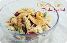 Chicken Taco Pasta Salad