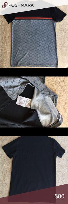 Gucci T-shirt Gucci slim fit black t-shirt. 100% cotton. Gucci Shirts Tees - Short Sleeve