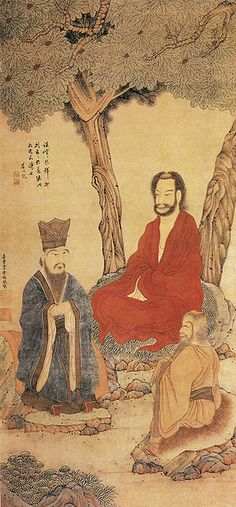 Lao Tzu is traditionally regarded as the founder of Taoism, a school of thought that developed in ancient China. Taoism is seen as one of the three main pillars of traditional Chinese thought. Japanese Drawings, Japanese Art, Chinese Painting, Chinese Art, Armin, Francis Wolff, Tao Te Ching, Taoism, Ancient China