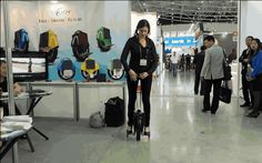 This $295 battery-powered unicycle (the Pinwheel) could replace your Segway