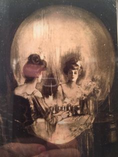 "Sherlock: The Abominable Bride. 1800's era replacement for the skull picture in 221B. ""All is Vanity"" by Charles Allan Gilbert"