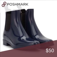 Sam Edelman Tinsley rainboot in space blue Navy in color Nwt price final Sam Edelman Shoes Winter & Rain Boots