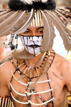 Las Mascaras de la Alborada 2011 #4  Danzante en el desfile de Alborada, San Miguel de Allende, Guanajuato, Mexico