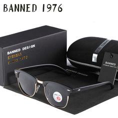 Online Shop UV400 HD Polarized men women Sunglasses Classic fashion retro  club Brand Sun glasses Coating Drive Shades gafas De Sol Masculino a17af46379d0