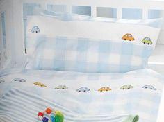 DIY-Anleitung: Bettbezug mit Autos nähen und besticken via DaWanda.com