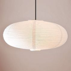 Oval pendel lampe i papir - i diameter med det flot design Globes, Decoration, Table Lamp, Ceiling Lights, Lighting, Pendant, Interior, Collection, Instagram