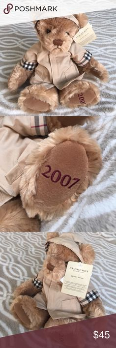 100% Authentic Burberry teddy bear 🐻with raincoat 100% Authentic Burberry teddy bear 🐻 with raincoat Burberry Other