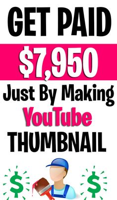Now every single person has a youtube channel. Because people like to watch videos online. And lots of people are interested in uploading videos. That's why they need a good-looking youtube thumbnail to get more views. That's why if you help them to make a good-looking youtube thumbnail? You can earn a big amount of money easily. And I share the step that will help you to get paid $7950 just by making youtube video thumbnail. #makemoney #easyonlinejobs #makemoneyfast #sidehustles #earnmoney