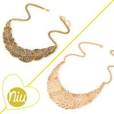 Collares cortos, cuál es tu estilo? encuentra esto y mucho más en: www.niuenlinea.co Short Necklace, Necklaces, Accessories, Style