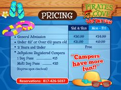 Coupons for pirates cove burleson tx