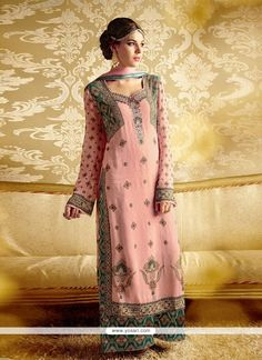 Ravishing Bamber Georgette Designer Suit Model YOS3667