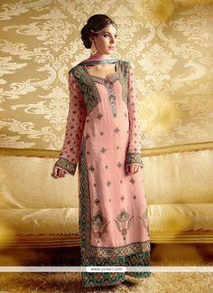 Ravishing Bamber Georgette Designer Suit Model YOS3667