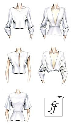 cool ILLUSTRATION || Learn more about the creation of a garment for several different... More